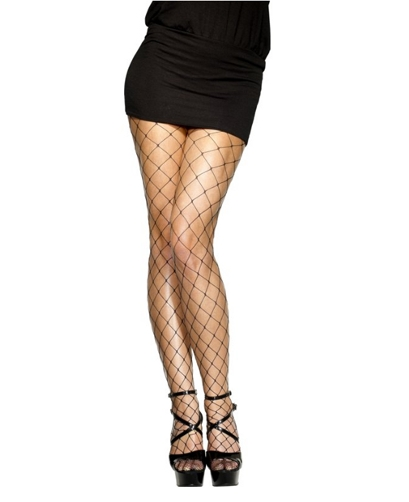 Diamond Net Tights Fish Net Tights Red Black Or White