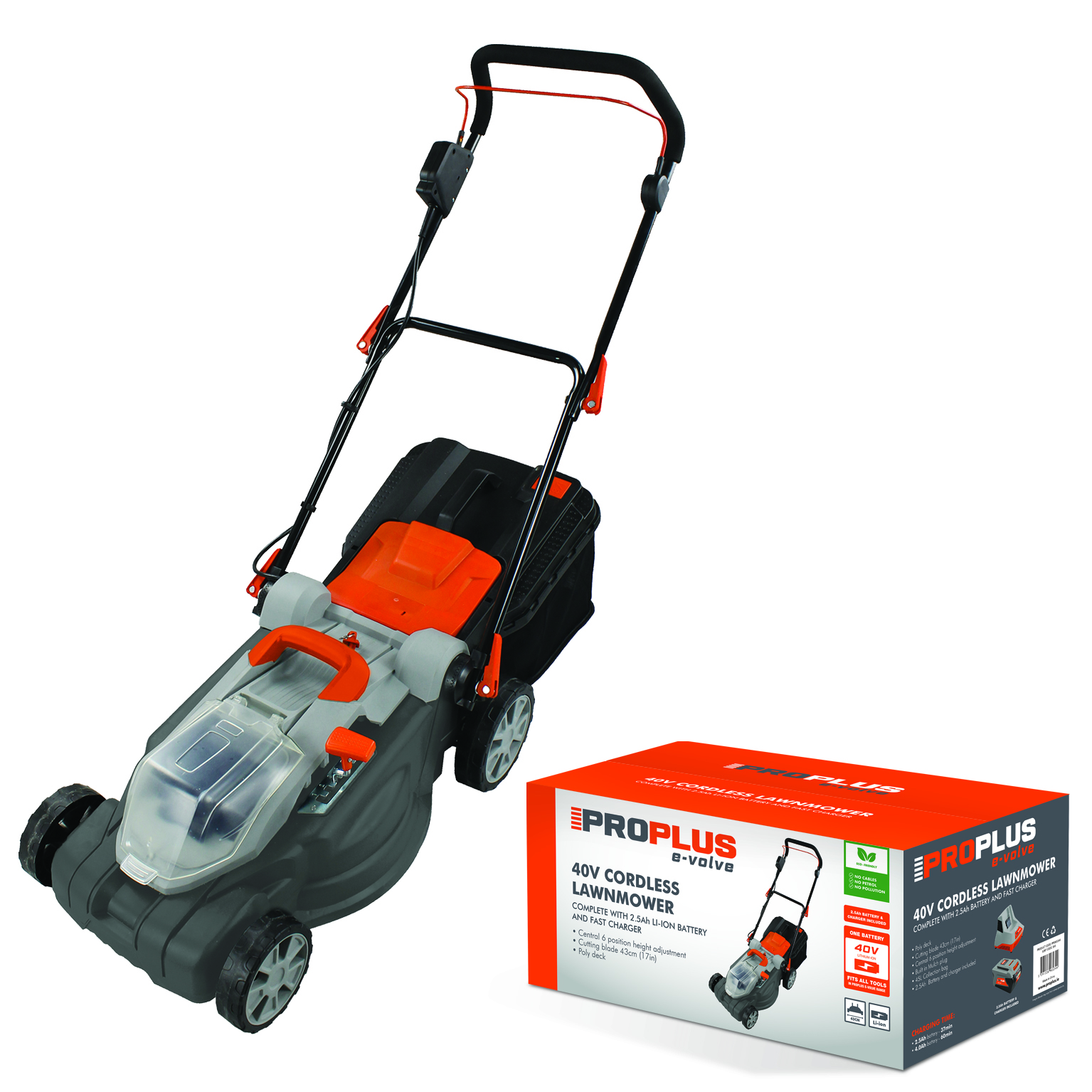 Proplus Evolve Battery Operated Lawnmower